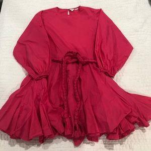 Rhode Resort Ella Dress - Hot Pink